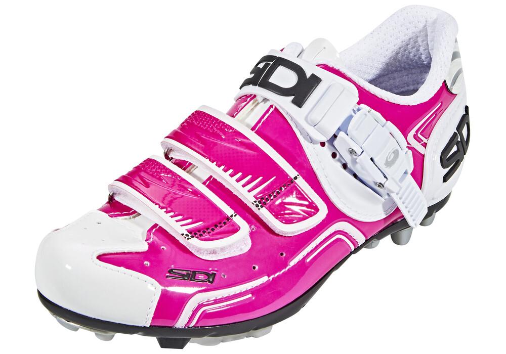 sidi mtb buvel shoes pink white at bikester co uk